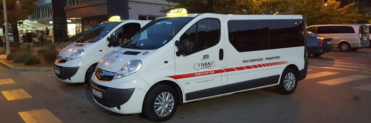 Taxi Ivan - Vaš pouzdan partner